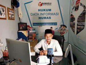 Lakukan Diskusi Virtual dengan Bawaslu Kota Bekasi: Serba-serbi Penanganan Pelanggaran Pilkada Tahun 2020