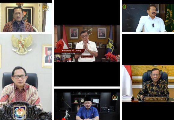 Jelang Harlah, Sejumlah Menteri dan Pimpinan Lembaga Negara Harap Bawaslu Makin Kokoh