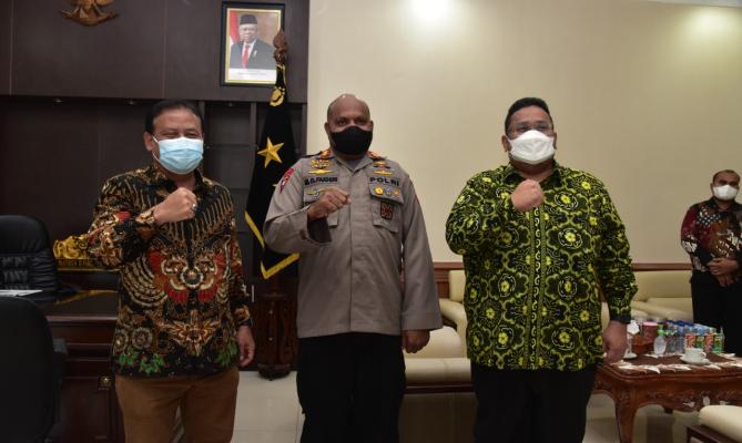 Bawaslu Awasi PSU, Polda Papua Siap Amankan PSU Pilbup Boven Digoel